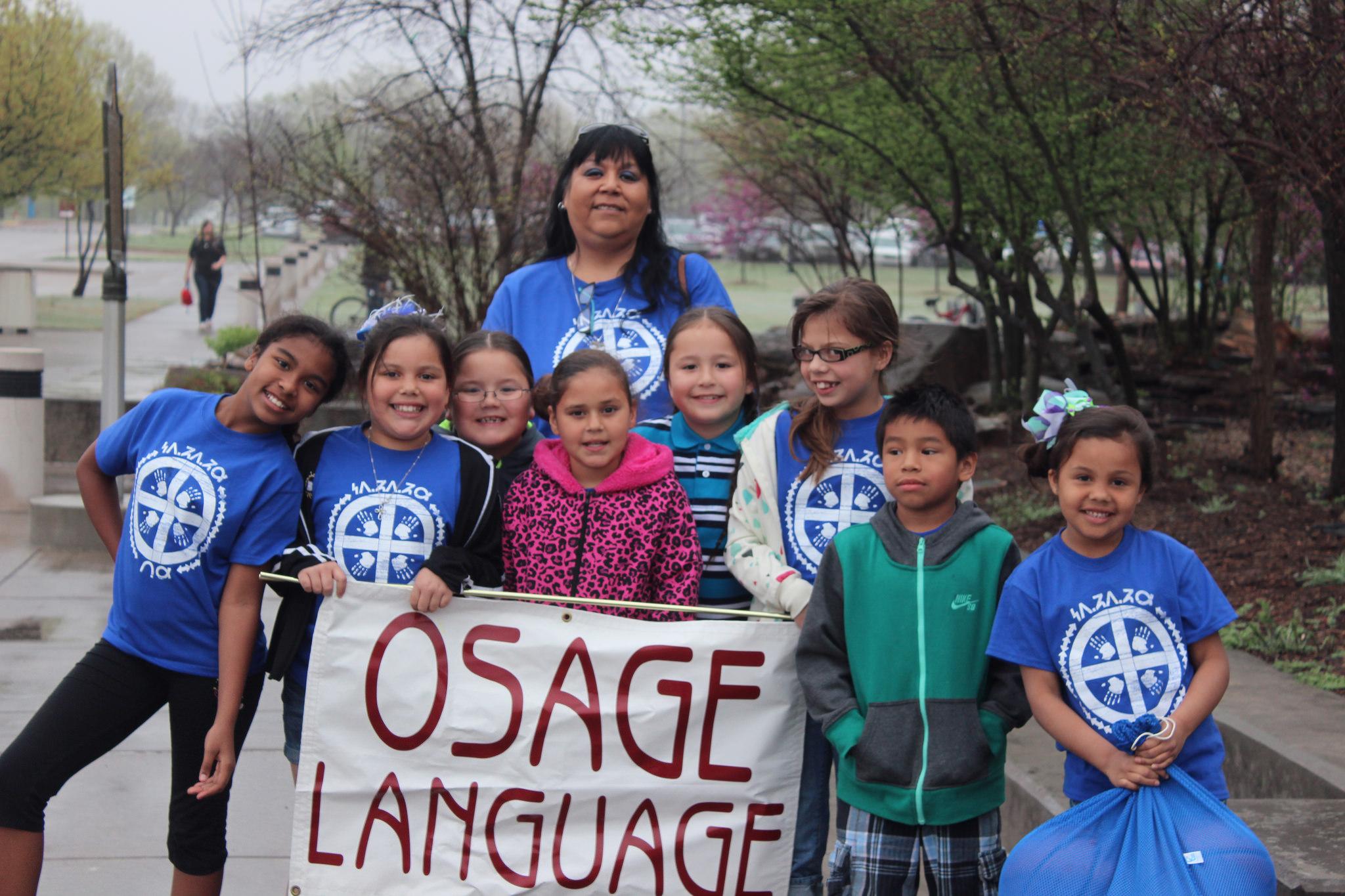 Osage youth win big at Oklahoma Native American Youth Language Fair