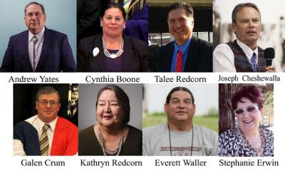 Voters elect eight to serve on the Third Osage Minerals Council