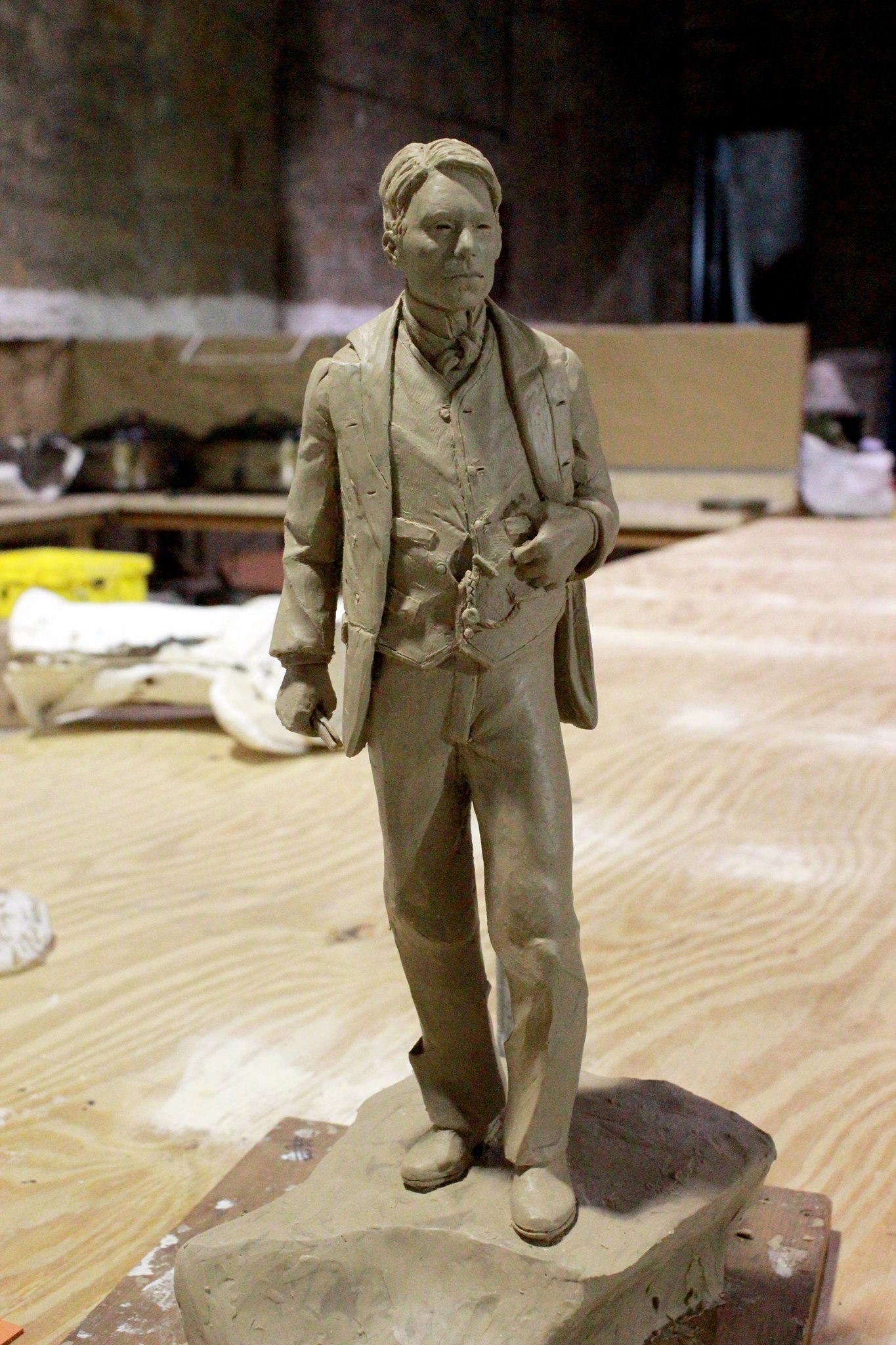Nine-foot statue of Chief James Bigheart to be unveiled June 22