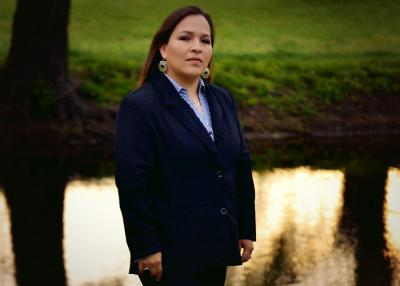 W. Jacque Jones has announced her candidacy for the Fourth Osage Nation Congress