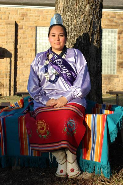 Osage Princess makes preparations to attend 81st American Indian Exposition