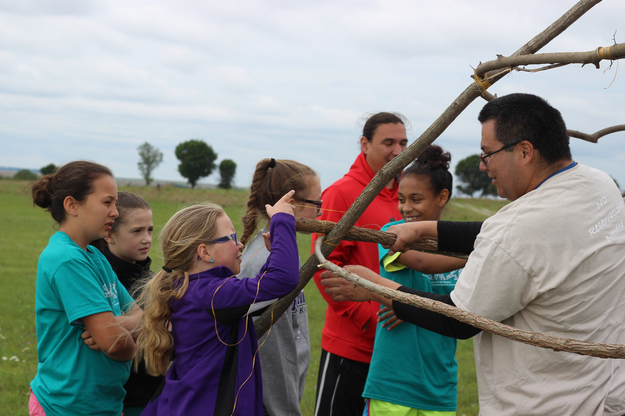 Osage youth learn about Ecology during summer camp