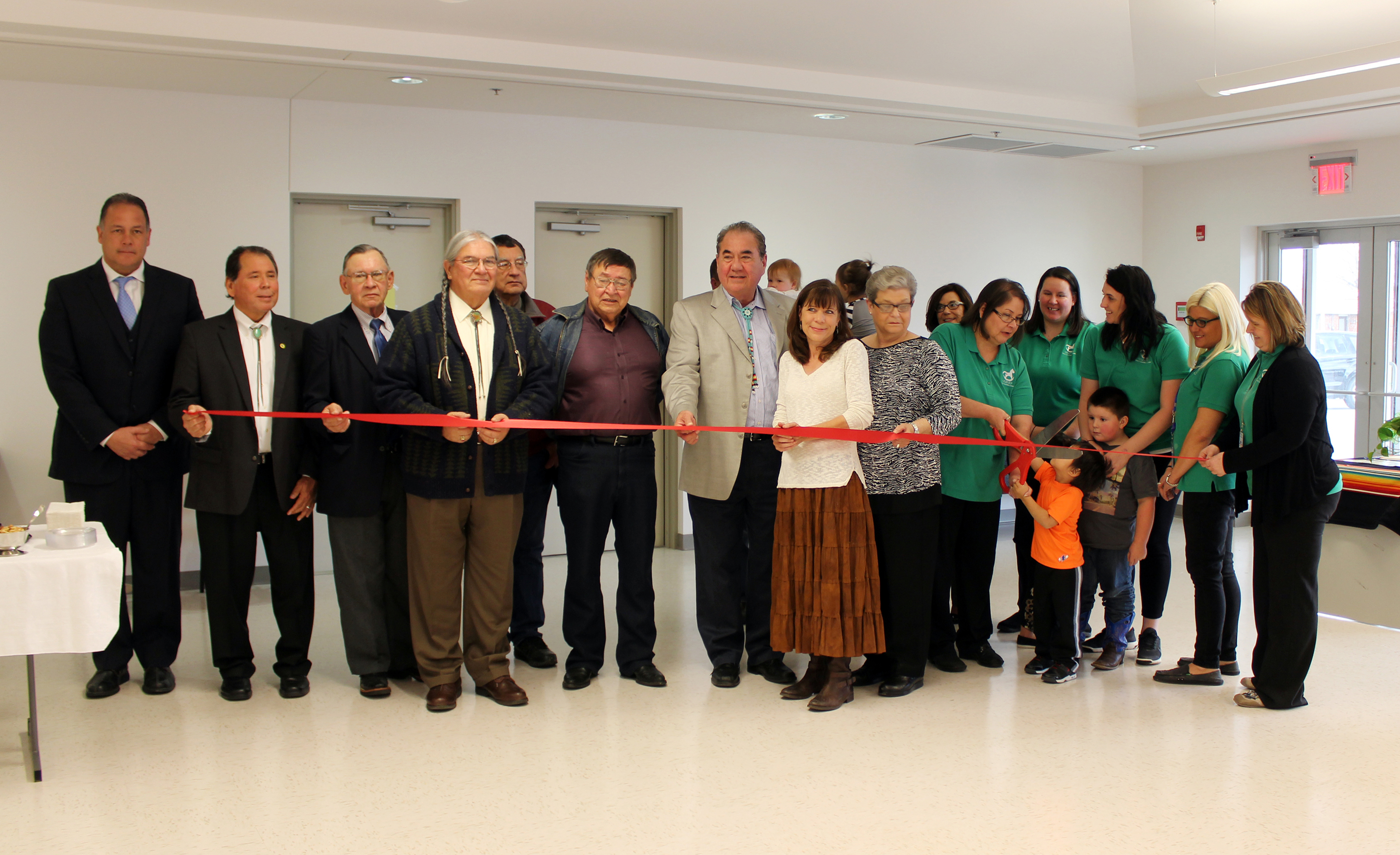Osage Nation officials open the Fairfax WELA and Fairfax Senior Center