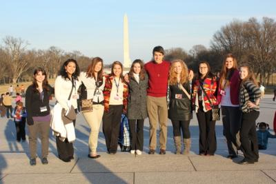 Osage students get taste of political atmosphere in Washington, D.C.
