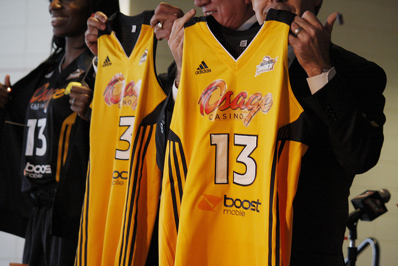 Osage Casinos ending marquee partnership with Tulsa Shock