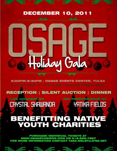 Fundraiser to benefit Osage youth causes controversy