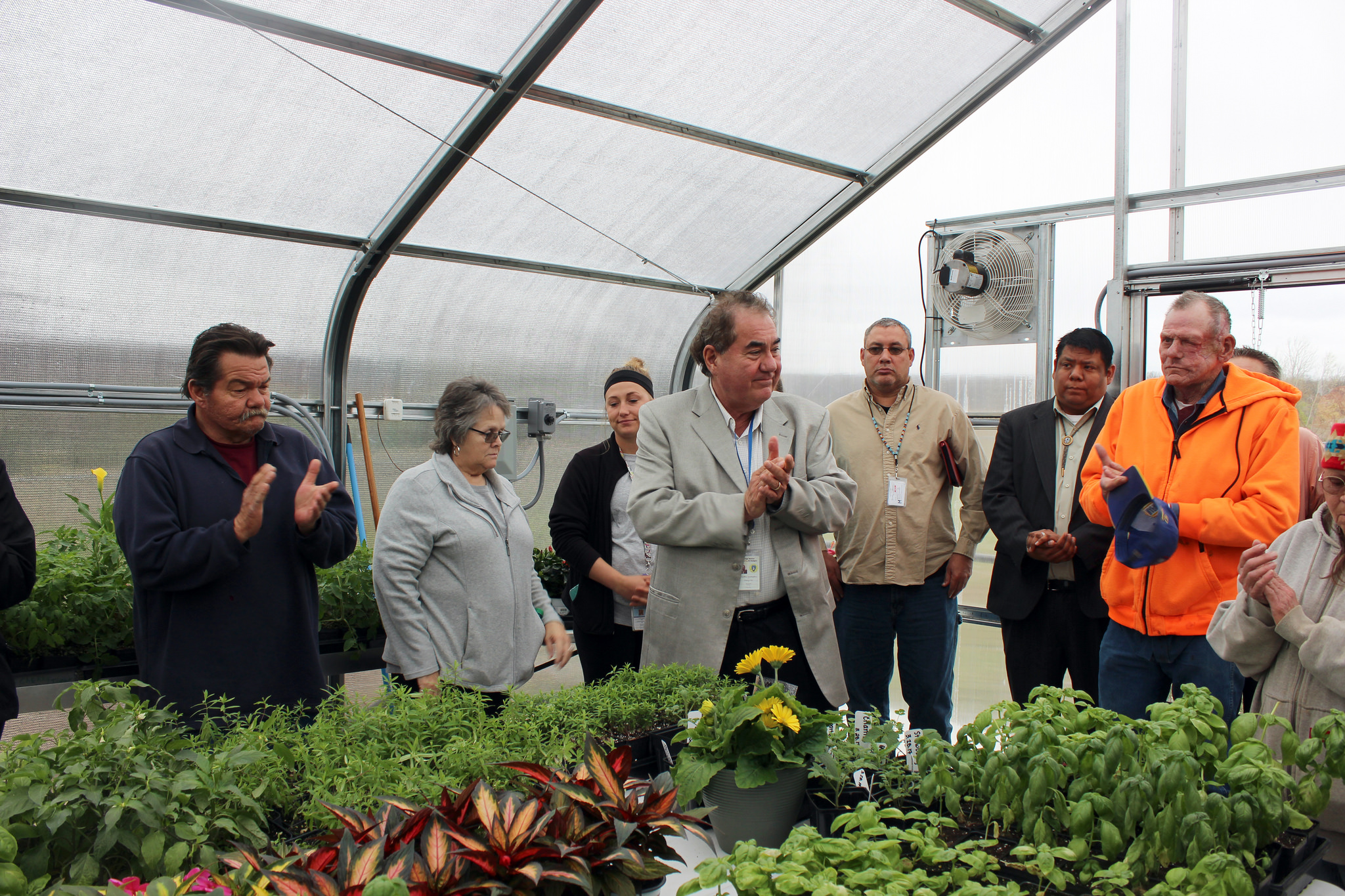AmeriCorps opens greenhouse in Senior Housing complex in Pawhuska