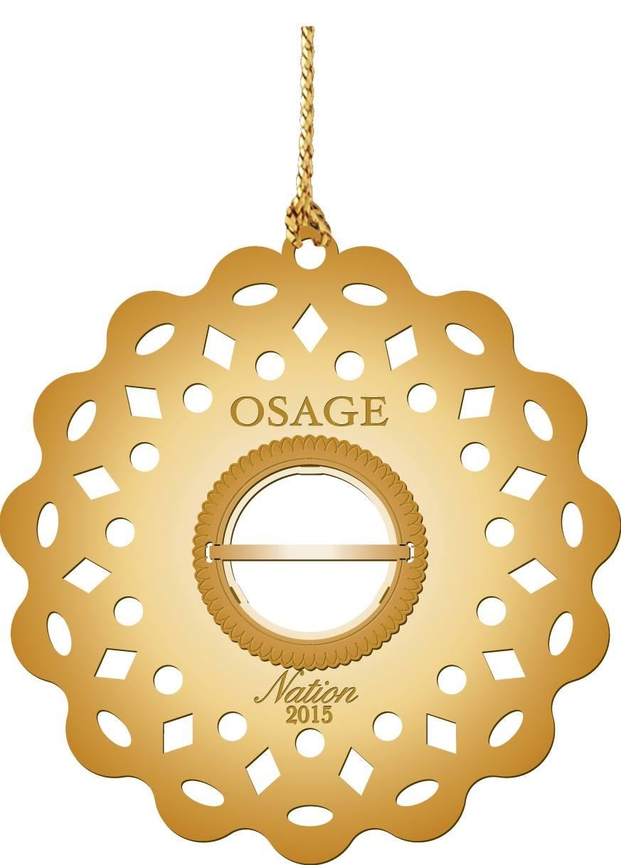 2015 Osage Nation Foundation ornament on sale
