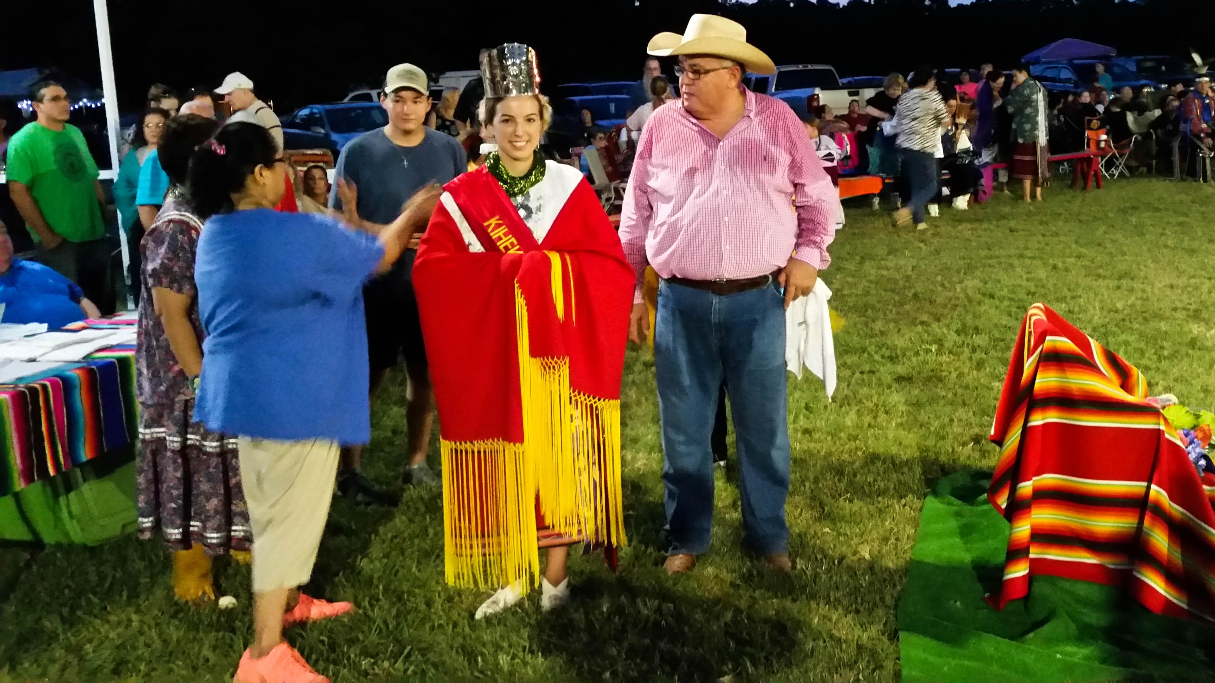 Berrey crowned 2016-2017 Kihekah-Steh Powwow Princess