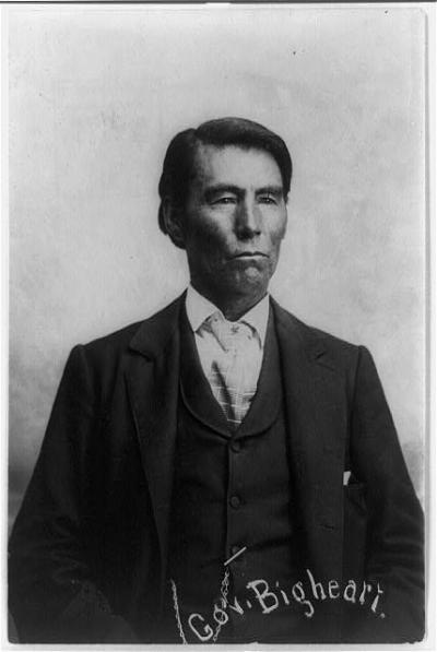 Chief James Bigheart to be honored Sept. 28 by Osage Tribal Museum