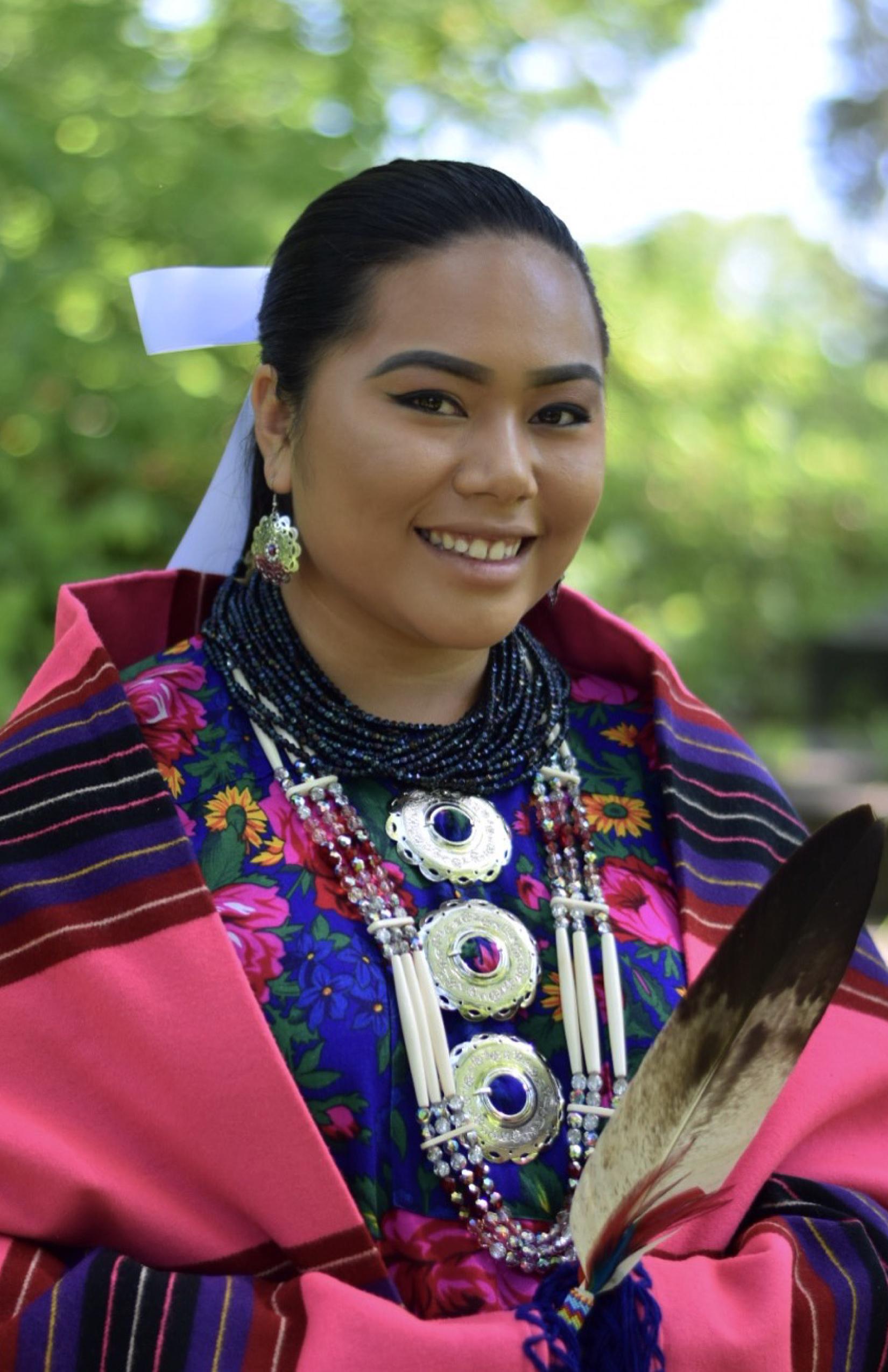 Jasmine Phetsacksith crowned the 2017-2018 Osage Tribal Princess