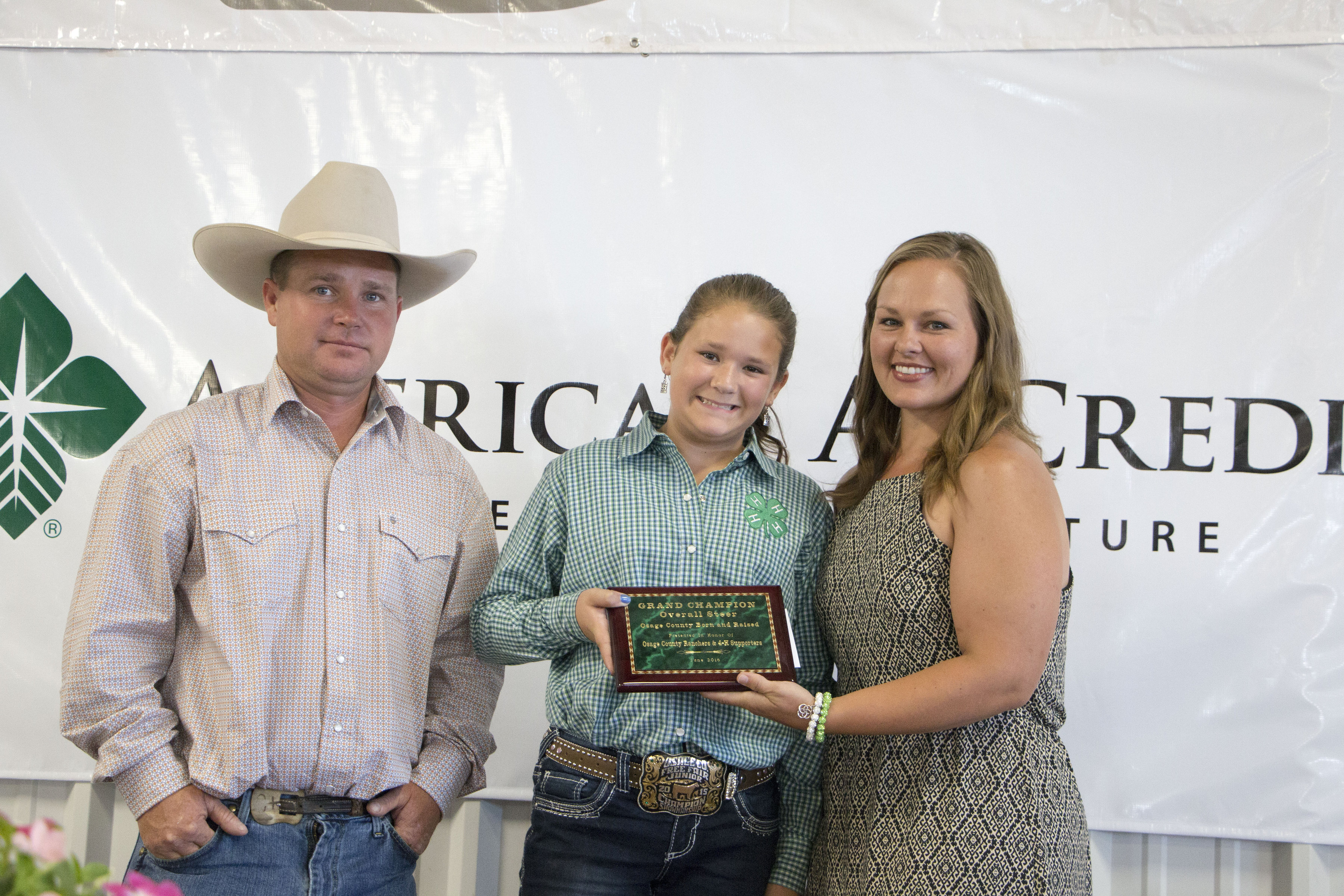 Eleven-year-old Osage wins 'County Born and Raised' at Cattleman Hall of Fame Luncheon