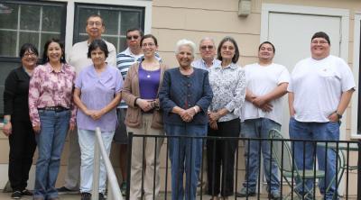Osage Elders get together for final spring class