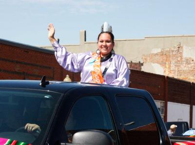 Being the Osage Tribal Princess is 'a great opportunity'