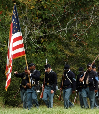 Osages attend Battle of Honey Springs 151st Anniversary