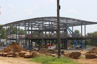 Construction of new Osage campus well underway