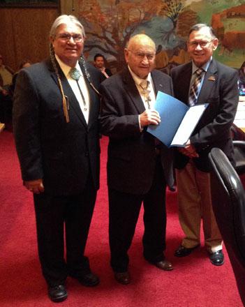 ON Congress passes resolution honoring Milton Labadie