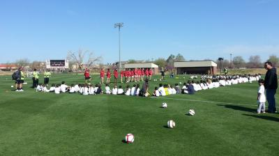 Notah Begay III Foundation hosts free OU soccer clinic for Native Youth