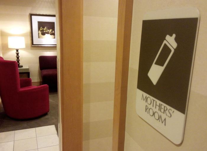 Baby Care Rooms Dubai Airport