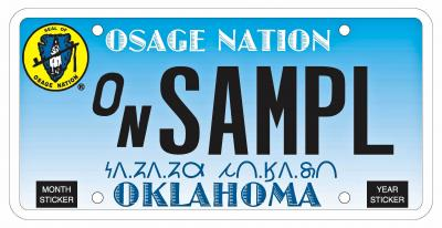 New Osage Nation tribal tags to include Osage orthography