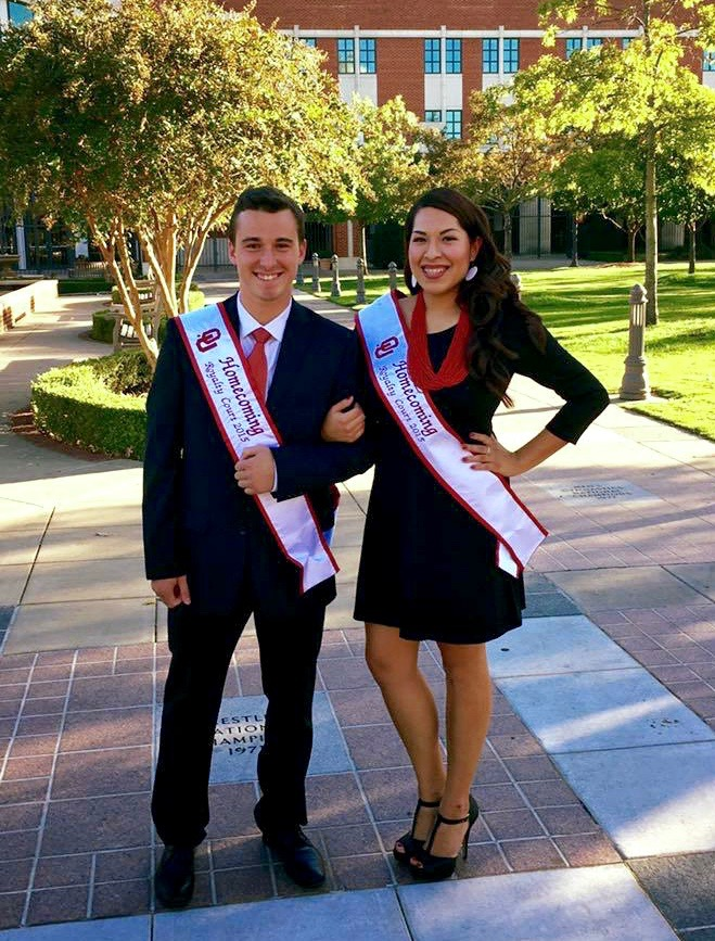Osage student running for 2015 OU Homecoming King