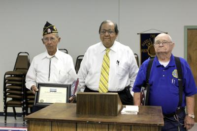 Two Osage County military veterans honored for their WWII service
