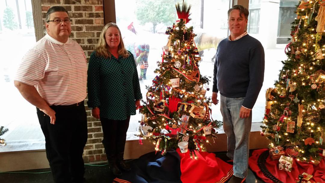 Osage culture represented in Christmas tree exhibit in Oklahoma City
