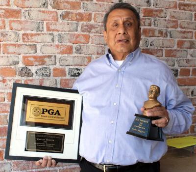 Hopper named Honorary Member in South Central PGA
