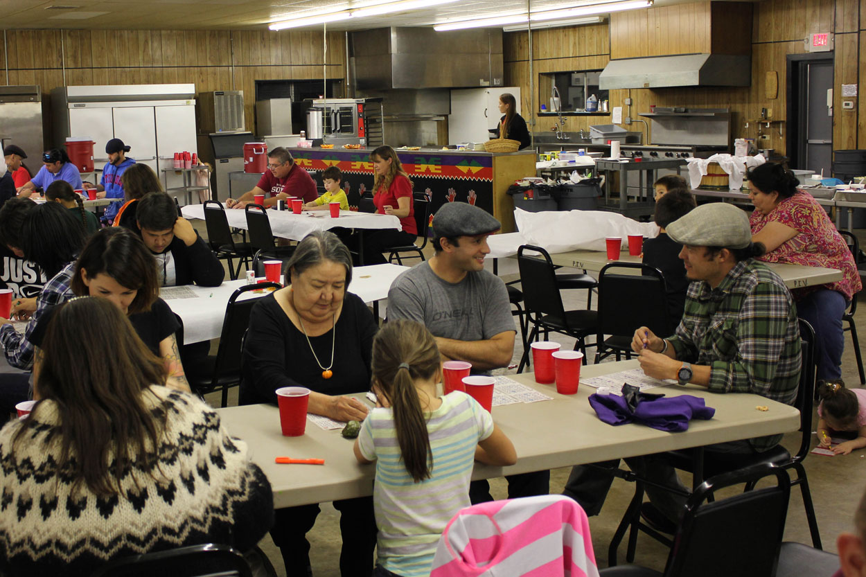 Pawhuska Indian Village holds community dinner