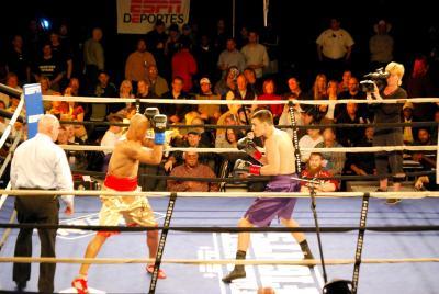 Million Dollar Elm hosts ESPN2's 'Friday Night Fights'