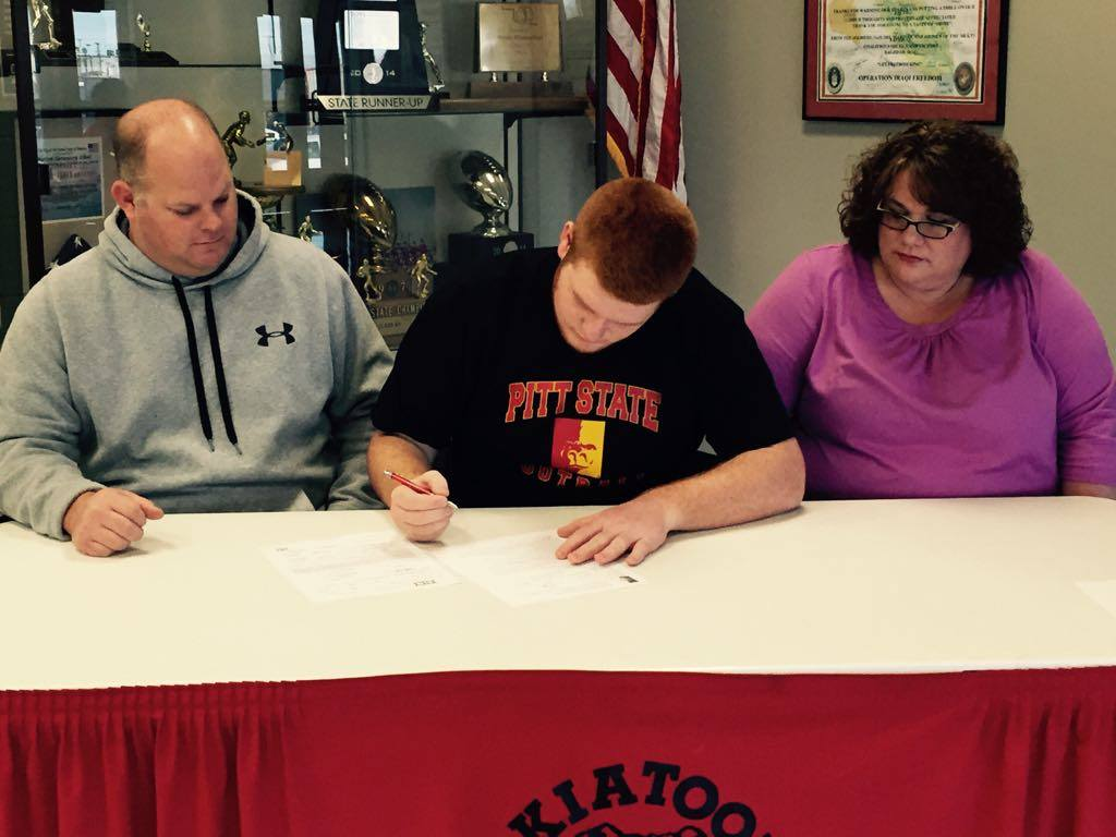 From a Skiatook Bulldog to a Pitt State Gorilla, Appelberg is heading to Kansas