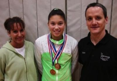 Osage gymnast competes for state, national titles