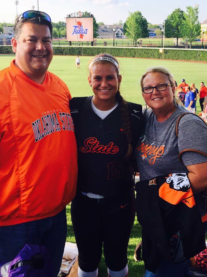 Whitehorn recognized for her achievements in the classroom and on the mound