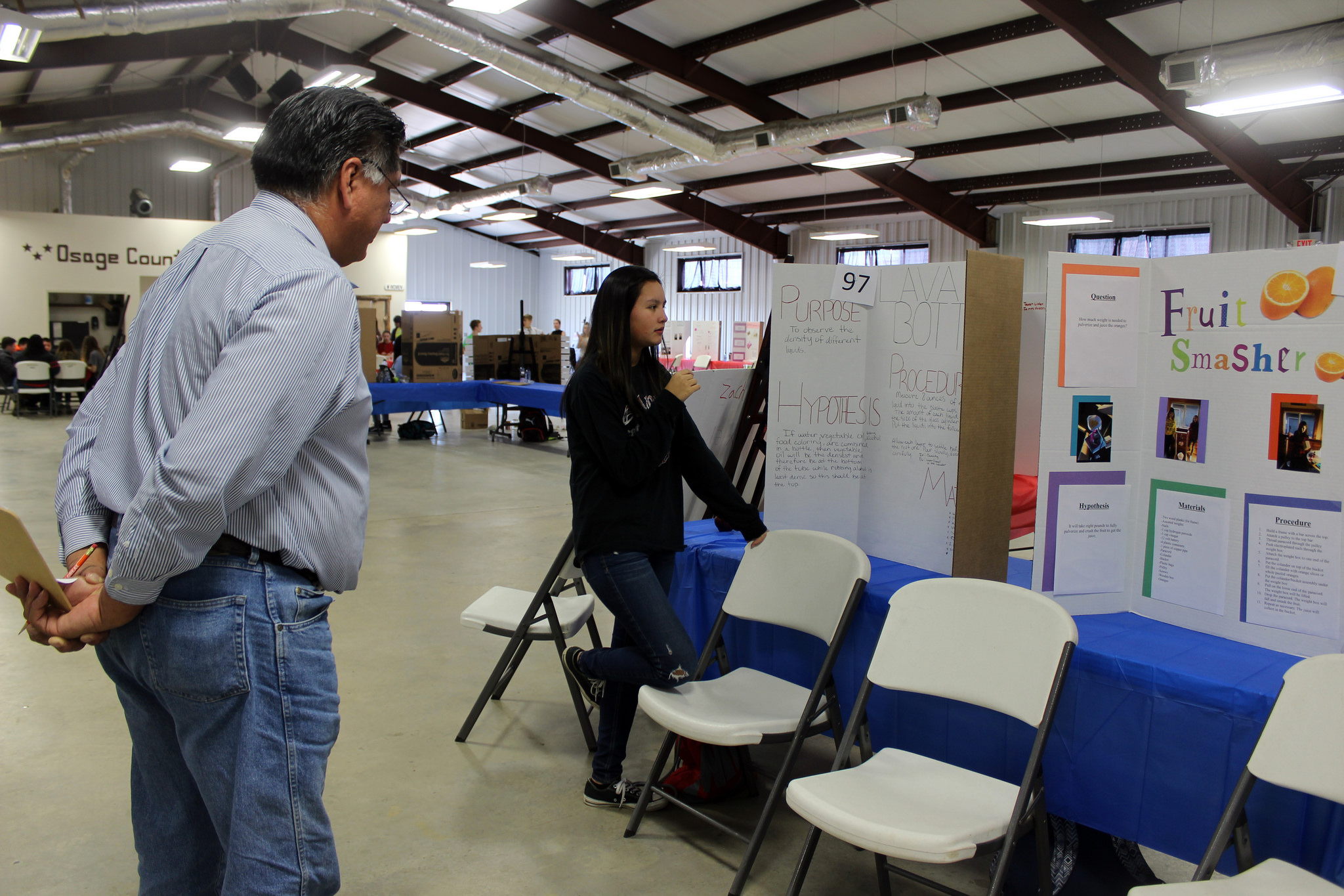 ON Education Department hosts inaugural Seventh Grade Science Fair