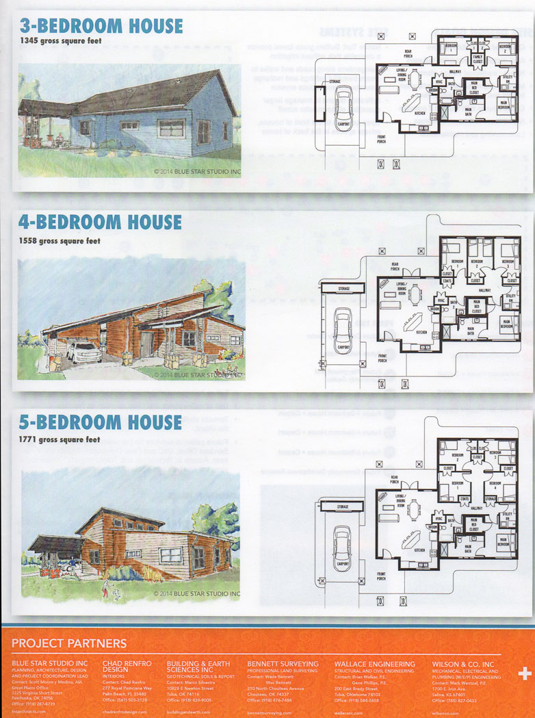osage nation and design professionals discuss skiatook housing plans - Housing Plans