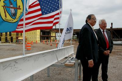 Skiatook and Ponca City Osage Casinos host Topping Out Ceremonies