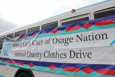 Osage Nation Boys and Girls Club hold its annual Charity Clothes Drive