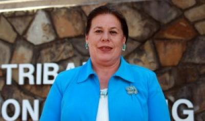 Cynthia Boone announces her bid for re-election to Osage Minerals Council