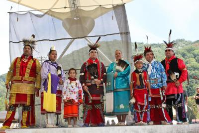 Osages showcase their culture to Eastern Band of Cherokees at festival