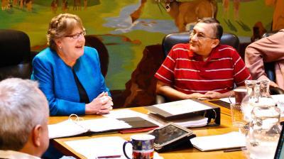 Osage Nation Congress confirms Callie Catcher as the Nation's Treasurer